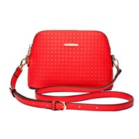Wholesale 2016 new embossing real leather small fashion women bag Messenger shell shoulderbags Fashion women cross body bag