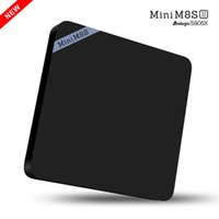 Wholesale Mini M8SII Android TV Box Amlogic S905X GB GB Quad core GHz WiFi BT Smart Media Player Set Top Box