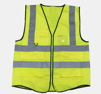 Wholesale High Quality Reflective Safety Clothing Visibility Working Safety Construction Vest Warning Reflective traffic working Vest RS