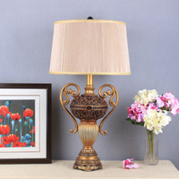 Wholesale Modern Table Lamps With Black White Shade Table Lights For Bedside Decoration For Bedroom