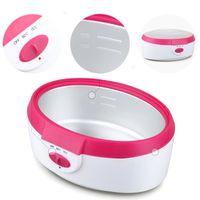 bath heaters - 5 liters High capacity SPA Paraffin Bath Hand Feet Wax Skin Treatment Machine Heater Wax Warmer Set Blue and red
