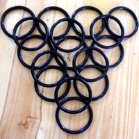 Wholesale Black NBR70A O Ring Seals ID63 mm C S1 mm OR2250 OR2362 AS568 Standard Set