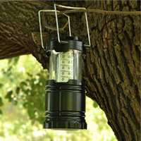 Wholesale Ultra Bright Collapsible Led Light weight Camping Tent Lanterns Light Emergencies Hurricanes For Hiking Fishing LED flashlight