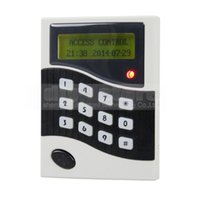Wholesale LCD KHz RFID Keypad Password ID Card Reader Door Access Controller Free ID Key Tag B100