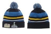 adult football leagues - XLVIII super league Football Beanies Team Hat Winter Caps Popular Women Men Beanie Caps Skull Caps Best Quality Warm Sports Caps