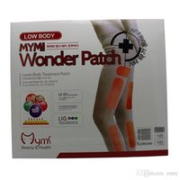 Wholesale 200 sets MYMI Wonder Slimming Patch for Leg Body Slim Patch Weight Loss Fat burners DHL JFT
