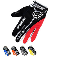 Wholesale Dropshipping Motorcycle FOX racing gloves breathable anti slip motorcycle cycling gloves