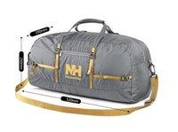 barrel bag gym - NatureHike Nylon Foldable Bags Large Capacity Gym Bag Sports Bags Women Portable Single Shoulder Barrel Gym Totes Sport Bag