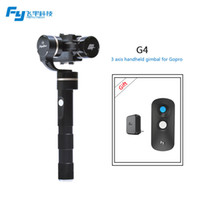 Wholesale feiyutech official store FY G4 axis handheld gimbal for gopro and other sport cameras with similar size