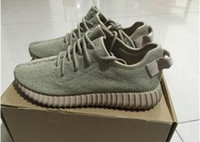 athletic training basketball - 2016 Newest Oxford tan low Kanye boost shoes Kanye West Athletic Sporting Running training Basketball shoes sneakers High quality