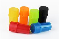 air tight containers - DHL Universal Container Water Tight Air Tight Medical Grade Plastic Smell Proof Portable Multiple Colors Available Herb Grinder
