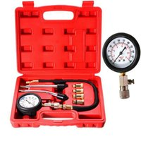 auto compression tester - Professional Petrol Gas Engine Cylinder Compression Tester Gauge Kit Motor Auto