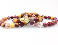 beaded easter eggs - SN0360 New Arrivals Gold Rose Gold Silver Plated Lion Head Bead Bracelet Fashion Egg Yellowstone Bracelet Women Men Bracelet