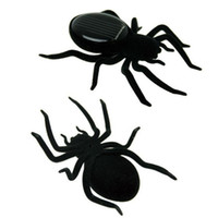 Wholesale Solar Spider Tarantula Educational Robot Scary Insect Gadget Trick Toy Solar Toy Juegos Solares Kids Toy Robot Toy