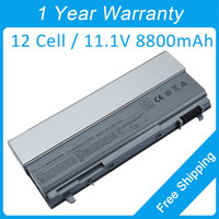 Wholesale New cells V mAh Laptop Battery PT434 PT435 PT436 TP437 FU268 for Dell Latitude E6400 ATG Latitude E6400 XFR hot sale
