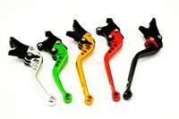 Wholesale 2pcs CNC Long Short Adjuster Brake Clutch Levers For ZX6R ZX636R ZX6RR ZX10R Z1000 VERSYS1000 ZZR600 ZX9R ZX12R