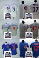 Wholesale 2016 World Series Bound Men s Chicago Cubs Javier Baez Kris Bryant Flexbase Baseball Jerseys