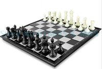 Wholesale Mini Board Magnetic Pocmrtable Chess Set Traveler Plane Easy to Carry Mini Chess set cm cm L313