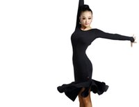 Wholesale Women Latin Dance Dress New Style Latin Dance Costume Adult Dance Practice Performance Skirt