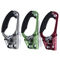 Wholesale 3 Colors Travel Equipment Climbing Left Hand Ascende Caving Rope Handheld Riser Rock Mountaineer Suitable for Left Hand