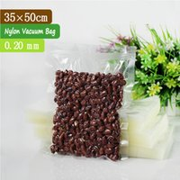 bacon meat - 100 x50cm mm PA PE Vacuum Meat Bags Plastic Vacuum Bacon Bags Vacuum Package for Food