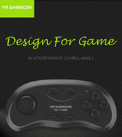Wholesale VR SHINECON Remote Controller Multi function Bluetooth Wireless Game Pad Remote Controller Shutter Mouse for Android iOS Windows yz