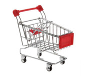 shopping cart - Kids Toys mini Shopping Cart model Iron material