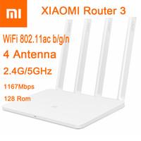antenna flashing - 2016 CPU MT7620A ROM MB Flash original xiaomi mi WiFi router Dual band antenna GHz Mbps WiFi ac b g n APP Control