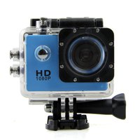 Wholesale Waterproof Inch LCD Screen SJ4000 style P Full HD Camcorders Helmet Sport DV M Action Camera VS SJcam GO Pro