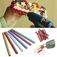 Wholesale Hot Sale Colors Hot Sale Glitter Hot Melt Glue Sticks For Electric Heating Tool Art Craft Hobbies Approx x10cm