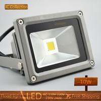 Wholesale W LED Flood light V V Cool White warm white Waterproof Spotlight Projection lamp Home Garden led outside lamp