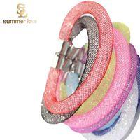 beautiful friendship - Hot Sale Beautiful Design Mesh Stardust Bracelet Female Magnetic Crystal Friendship Bracelets Bangles For Women Bijoux