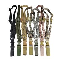 american rifle - Tactical American Sling Adjustable Bungee Rifle Gun Sling Strap System Tactical One Single Point Hunting Gun Sling