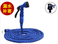 Wholesale 100pcs FT FT FT FT With Water Guns Blue Color Expandable GARDEN HOSE WATERING INNER HOSE MAGIC SOFT jy332