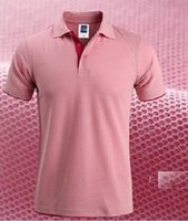 barcelona polos - Pearl Cotton Short Sleeved Brand Man Polo Shirt Double Color Collar High Quality Camisa Barcelona Fashion Men Polo Shirt