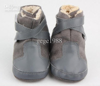 Wholesale BX199 Baby Snow winter Boots Baby Shoes Prewalkers First Walkers Footwear Baby Infant Toddler Boy Newborn