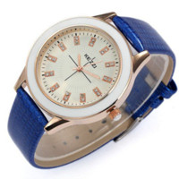 batteries freights - Kezzi Freight Free New High Quality Fashion Leather Bracelet Quartz Watch Water Resistant Woman Watches for Women