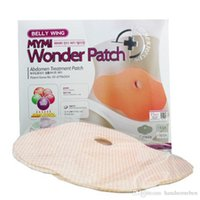 Wholesale Wonder Patches Korea MYMI Waist Slim Slimming Belly Patches PC Pack Lose Weight Products DHL