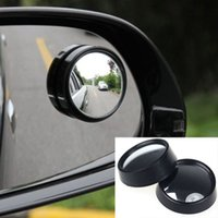 beetle auto - Convex Round Car Vehicle Mirror Auto Side Wide Angle Blind Spot Dead Zone RearView Mirror
