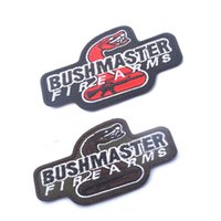 banner printing machines - 2016 new hot sell BUSHMASTER FIRE ARMS D Embroidered Armband Banner TACTICAL Embroidery Tactics Gear Patch CM