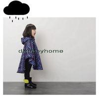 Wholesale Children S Hooded Poncho - Boy Girl Children Raincoat Kids Rain Coat Rainwear Rain Suit Poncho Cape Hooded S,M,L,XL