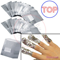 Wholesale TOP New Nail Art Soak Off Gel Polish Acrylic Removal Shellac Foil Wraps Remover NO ACETONE