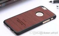 best hard case for iphone - Luxury Wooden PU Leather Wood Case Hybrid Hard Case Cover For iphone plus S S S Samsung Galaxy S7 edge S7 S6 S6 edge best