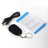 audio car camcorder - Hot Sell Spy Cameras Car Key Chain Hidden Camera Digital Cam Audio Video Recorder FPS Micro Camcorder without Retail Box Dropshipping