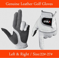 Wholesale Leather golf glove the man left and right soft breathable pure sheepskin gloves golf accessories golf supplies
