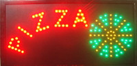 pizza sign - 2016 hot selling customerized animated led pizza signs billboard size x10 Inch of pizza shop business