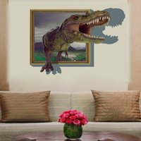 baby boy room decor - 3d wall stickers for kids rooms boys dinosaur decals for Baby Room decor christmas decorative vinyl poster decoration