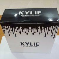 Wholesale 2016 In stock Kylie lip kit by kylie jenner Velvetine Liquid Matte Lipsticks in Red Velvet Makeup Lime Crime Lip Gloss Lip liner