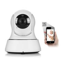 Precio de Seguridad de audio-SANNCE 1080 * 720 720p HD inalámbrica de seguridad de la cámara IP de infrarrojos de visión nocturna de grabación de audio de vigilancia de la red CCTV Onvif Indoor Baby Monitor