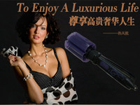 Wholesale Air Spin Hair Styler Ifiniti Professional Hair Styler Roller Spin Air Brush Ceramic Hair Curler Electric Inch Rotating Hair Styling Comb